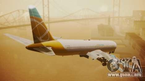 Boeing 767-300 Orbit Airlines para GTA San Andreas left