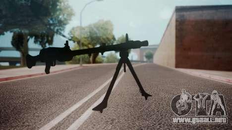 MG-34 Red Orchestra 2 Heroes of Stalingrad para GTA San Andreas segunda pantalla