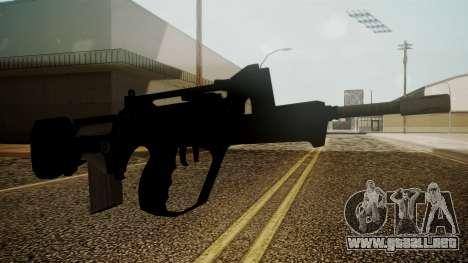 Famas Battlefield 3 para GTA San Andreas segunda pantalla