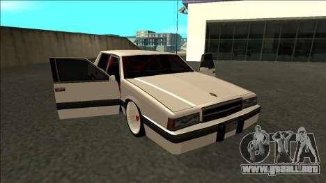 Willard Drift para vista lateral GTA San Andreas