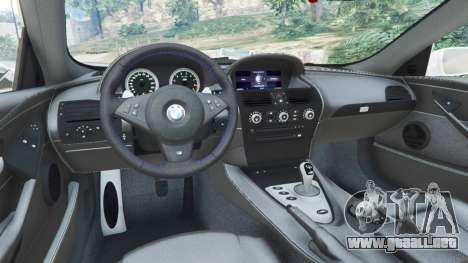 BMW M6 (E63) WideBody v0.1 [Volk Racing Wheel] para GTA 5