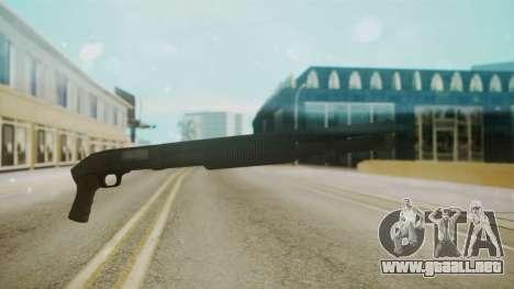 Escopeta Mossberg para GTA San Andreas segunda pantalla