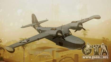 Grumman G-21A Goose para GTA San Andreas