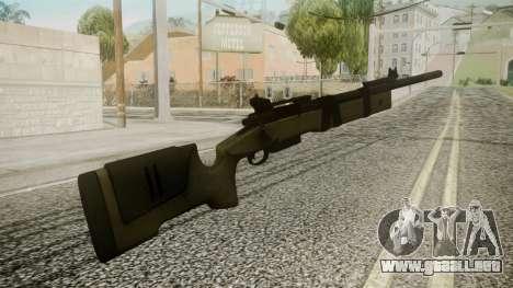 M40A5 Battlefield 3 para GTA San Andreas segunda pantalla