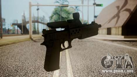 Silenced Pistol from RE6 para GTA San Andreas segunda pantalla