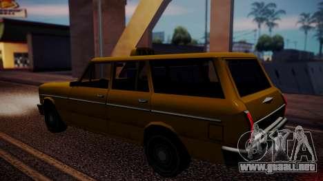 Taxi-Perennial para GTA San Andreas vista posterior izquierda