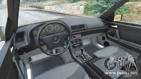 GTA 5 Mercedes-Benz S600 (W140) vista lateral derecha