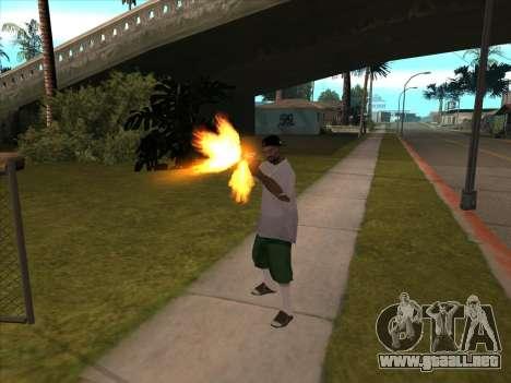 New Beta Skin para GTA San Andreas tercera pantalla