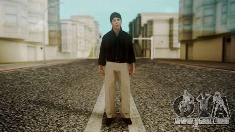 Paul McCartney para GTA San Andreas segunda pantalla