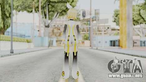 Project Diva F 2nd - Kagamine Rin Append para GTA San Andreas tercera pantalla