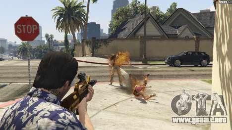 GTA 5 Lanzallamas para GTA 5 segunda captura de pantalla