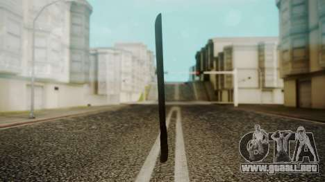 Machete from Friday the 13th Movie para GTA San Andreas segunda pantalla