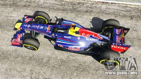 GTA 5 Red Bull RB8 [Sebastian Vettel] vista trasera