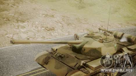 T-55 para la visión correcta GTA San Andreas