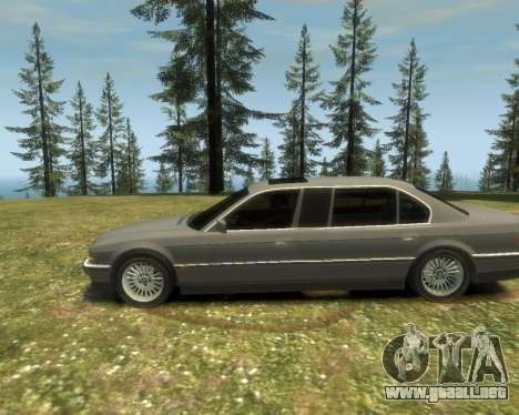 BMW L7 (750IL E38) 2001 para GTA 4 visión correcta