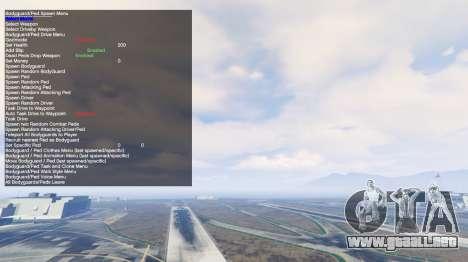 GTA 5 Simple Trainer v2.4 tercera captura de pantalla