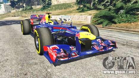 Red Bull RB8 [Sebastian Vettel] para GTA 5