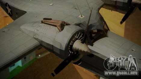 Grumman G-21A Goose para la visión correcta GTA San Andreas