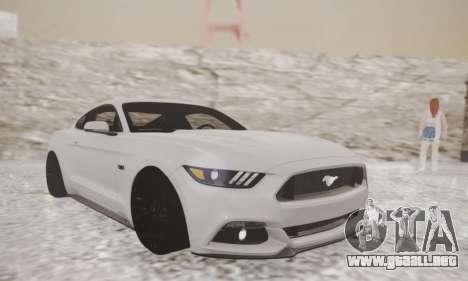 Ford Mustang GT 2015 Stock para GTA San Andreas left