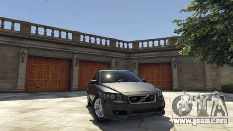 Volvo C30 Unmarked Police para GTA 5