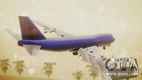 Boeing 747-200 Trans GTA Air para GTA San Andreas left