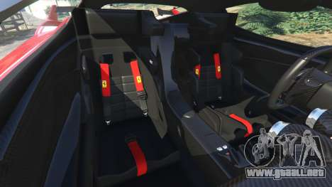 Rueda de GTA 5 Ferrari FXX-K 2015