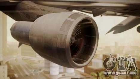 Boeing 747-100 All Nippon Airways para la visión correcta GTA San Andreas