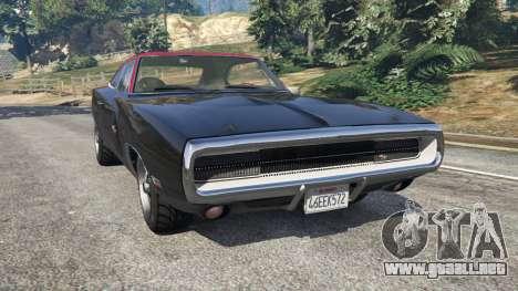 Dodge Charger RT 1970 v3.1 para GTA 5