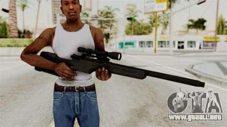 Rifle from RE6 para GTA San Andreas tercera pantalla