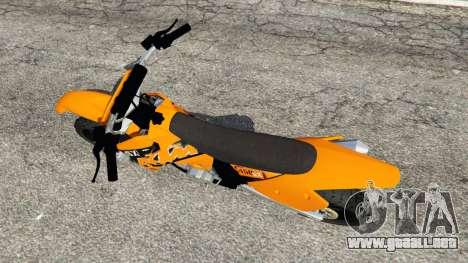 KTM 450SX Racing 2007 para GTA 5