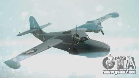 Grumman G-21 Goose Military para GTA San Andreas