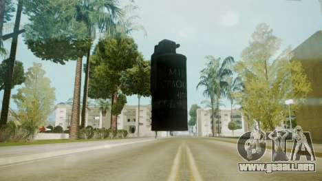 Atmosphere Tear Gas v4.3 para GTA San Andreas segunda pantalla