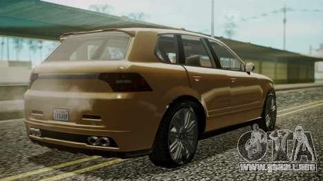 GTA 5 Obey Rocoto para GTA San Andreas left