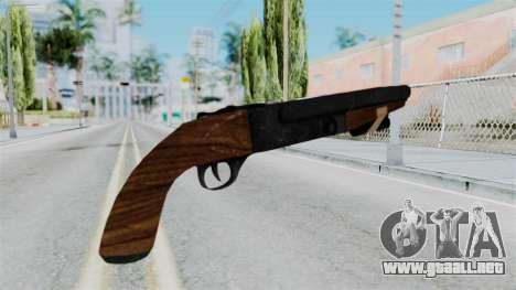 Sawnoff Shotgun from RE6 para GTA San Andreas segunda pantalla