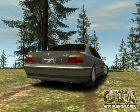 BMW L7 (750IL E38) 2001 para GTA 4 left