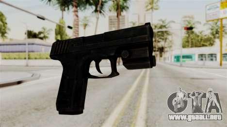 Colt 45 from RE6 para GTA San Andreas