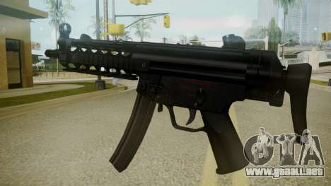 Atmosphere MP5 v4.3 para GTA San Andreas segunda pantalla