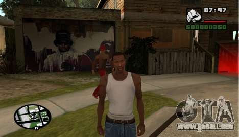 Hip Hop Loadscreens para GTA San Andreas séptima pantalla