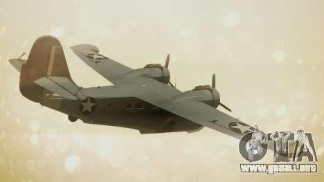 Grumman G-21A Goose para GTA San Andreas left