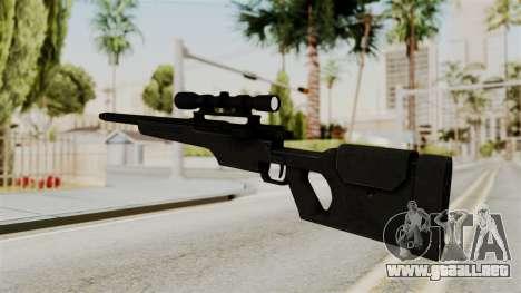 Rifle from RE6 para GTA San Andreas segunda pantalla