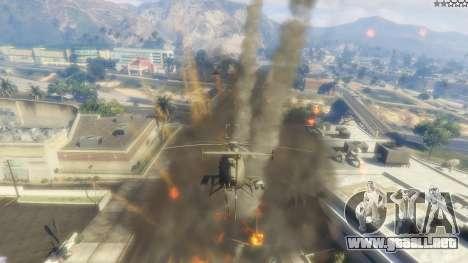 GTA 5 MH-6/AH-6 Little Bird Marine décima captura de pantalla