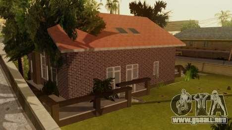 New Ryder House para GTA San Andreas tercera pantalla