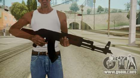 Atmosphere AK-47 v4.3 para GTA San Andreas tercera pantalla