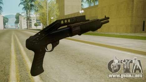 Atmosphere Combat Shotgun v4.3 para GTA San Andreas segunda pantalla