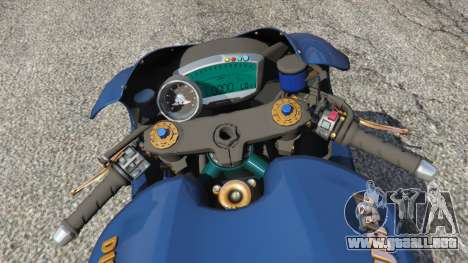 GTA 5 Ducati Desmosedici RR 2012 vista lateral trasera derecha