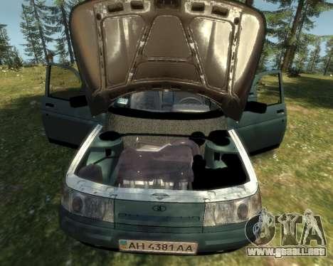 VAZ 21103 v1.1 para GTA 4 Vista posterior izquierda