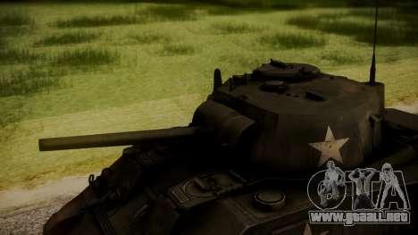 M4A3 Sherman para la visión correcta GTA San Andreas