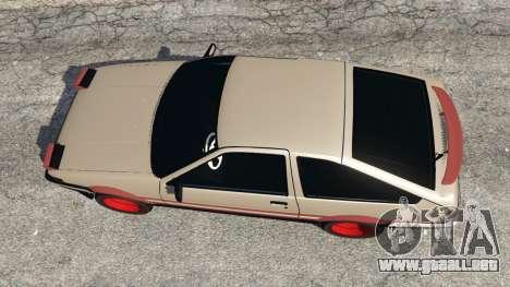 Toyota AE86 Sprinter [Beta] para GTA 5