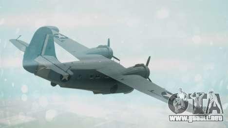 Grumman G-21 Goose Military para GTA San Andreas left
