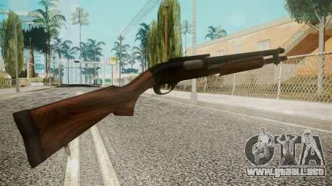 Shotgun by EmiKiller para GTA San Andreas segunda pantalla
